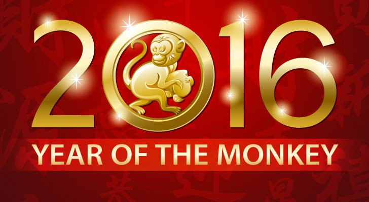Exciting year of the monkey in 2016